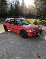 1991 Honda Civic hatchback si in Tacoma, Washington