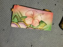 Anuschka hand painted leather wallet in Fort Leonard Wood, Missouri