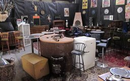 TODAY INDOOR FLEA MARKET in Waldmohr Saturday 21 July Furniture and Deco and 220v Items. & Etc.. in Ramstein, Germany