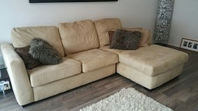 beige sectional with sofa bed in Ramstein, Germany
