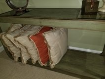 Olive Green Sofa Table in Quantico, Virginia