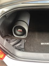 mtx rt8pt Tube subwoofer with builtin amp in Ramstein, Germany