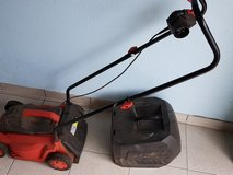 Small 220v electric lawnmower with free extension cord in Ramstein, Germany