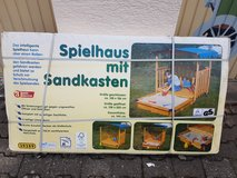 playhouse with sandbox in Ramstein, Germany
