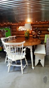 Table, 3 Chairs and Bench in Baytown, Texas