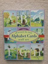 Land of Nod Alphabet Cards Wall Art in Joliet, Illinois