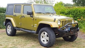 2008 Jeep Wrangler Unlimited Sahara in Grafenwoehr, GE