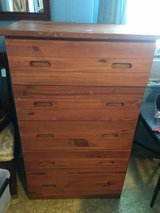 """Chest 5 draws 20"""" deep 27 1/2 wide 49"""" tall in Conroe, Texas"""