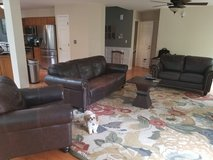 4 Piece Quality Leather Living Room Set in Aurora, Illinois