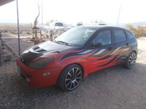 2002 Ford Focus ZX5 in Yucca Valley, California