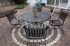 Patio furniture set in Ramstein, Germany
