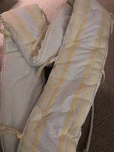 pottery barn bed skirt and bumper set in Kingwood, Texas