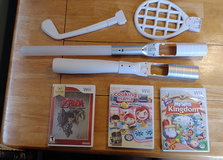 Wii games and equipment in Yorkville, Illinois