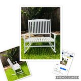 Porch Rocker - Rocking Chair - Seats 2 People in Spring, Texas