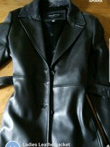 womens leather tie jacket in Great Lakes, Illinois