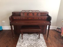 Piano built by Baldwin in Wheaton, Illinois
