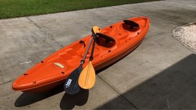 double kayak for two people in Camp Lejeune, North Carolina