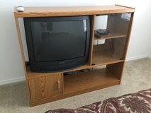 Small entertainment center with TV included in Alamogordo, New Mexico