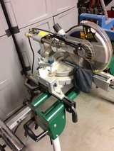 10 COMPOUND MITER SAW AND STAND in Orland Park, Illinois