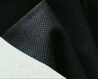 5 1/4 Yds Dark Charcoal Gray Textured Home Decor Fabric in Fort Bragg, North Carolina