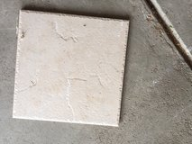 "12"" x 12"" beige floor tiles (over 100) in Aurora, Illinois"