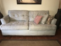 2 Ashley furniture light blue couches in Beaufort, South Carolina