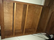 Solid wood bookcase in Beaufort, South Carolina