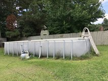 Above ground pool 12x24x52 in Camp Lejeune, North Carolina