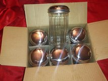 six new sugar shakers in box in Tomball, Texas