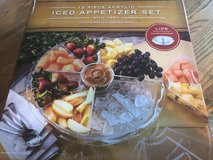 Iced Appetizer Set - New in Box in Aurora, Illinois