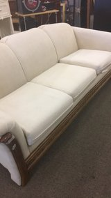 White Couch in Fort Leonard Wood, Missouri