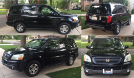 2004 Honda Pilot EXL DVD - VERY CLEAN! 1 Owner in Aurora, Illinois