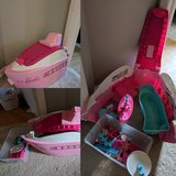 Barbie cruise ship yacht in Lockport, Illinois