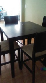 Pub Table with 4 stools in Camp Lejeune, North Carolina
