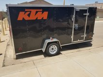 2016 Enclosed cargo trailer 6 x 14 x 6 ft in Alamogordo, New Mexico