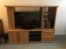 TV STAND / ENTERTAINMENT CENTER; Low and Wide in Lockport, Illinois