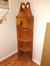Five Shelf Country Corner Shelving Unit in Orland Park, Illinois