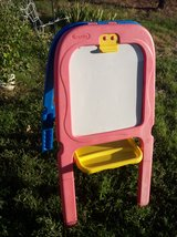 kids drawing easel crayola art 2 side chalkboard magnetic whiteboard w/tray in Alamogordo, New Mexico