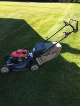 HPNDA HRX217 MOWER BLADE STOP FEATURE HYDRO TRANS BAG OR MULCH READY TO WORK in Yorkville, Illinois