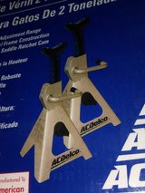 Pair of 2 Ton Jack Stands by ACDelco in Bartlett, Illinois