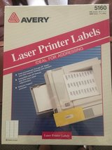 Avery Address Labels - Size 5160 - New in Box! in Naperville, Illinois