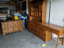 Two dressers, one with a hutch and a matching desk in Kansas City, Missouri