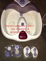 therma pedicure foot massager in Baumholder, GE