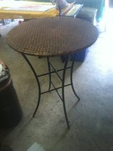 Pier 1 Wicker and Wrought Iron Bar Table in Kingwood, Texas