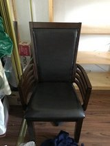 Chair, leather like seat in Chicago, Illinois