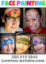 Free Face Painting today in Lawton, Oklahoma