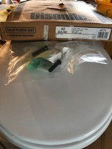 Olsonite Plastic RV/Marine Toilet Seat and Lid in Fort Riley, Kansas