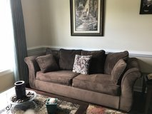 Couch, Queen pull out; excellent condition; originally $900 in Camp Lejeune, North Carolina