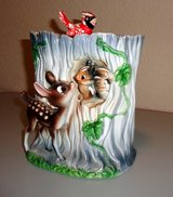 Disney 1950s Bambi cookie jar in Stuttgart, GE