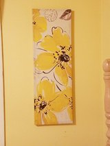 Yellow and brown painting in Lawton, Oklahoma